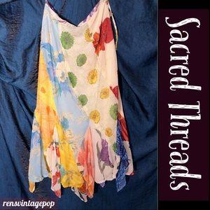 True Gypsy flowing handkerchief hem skirt